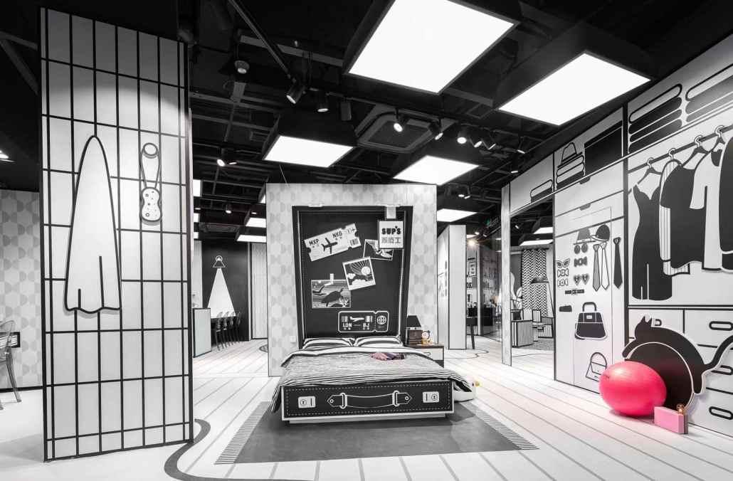 D.A.T.E._espone_le_nuove_sneaker_primavera_estate_:nel_nuovo_negozio_SUNING GROUP A NANJING