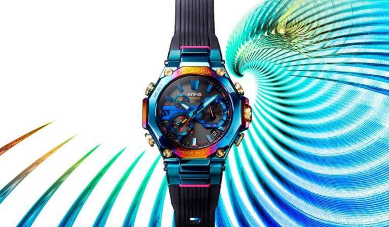 Casio presenta il nuovo G-SHOCK MTG, ispirato alla bellezza della fenice blu