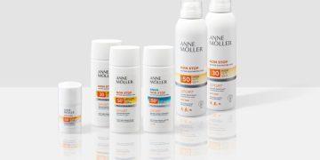 Anna Moller protezioni solari Angelini Beauty