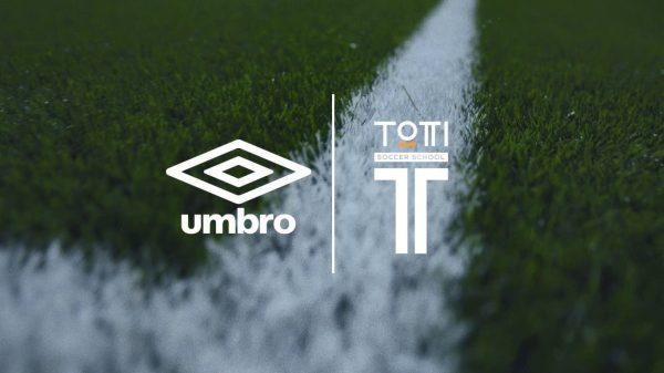Umbro accordo con la scuola calcio Totti