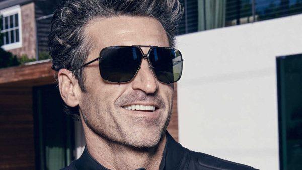 Patrick Dempsey è il brand ambassador di Porsche Design Eyewear