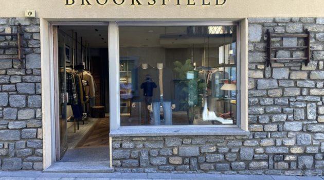 Brooksfield apre la sua nuova boutique di Courmayeur realizzata da Storagemilano