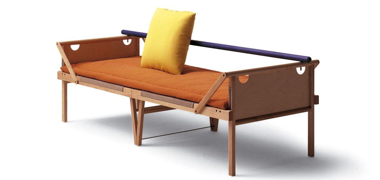 Il divanetto leggero ripieghevole Ospite di Campeggi