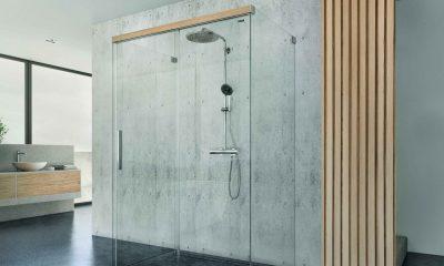 Il legno nella doccia Duscholux_Viva