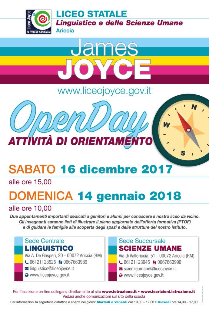 JOYCE DI ARICCIA AL TERZO POSTO tra i licei di Scienze Umane a Roma