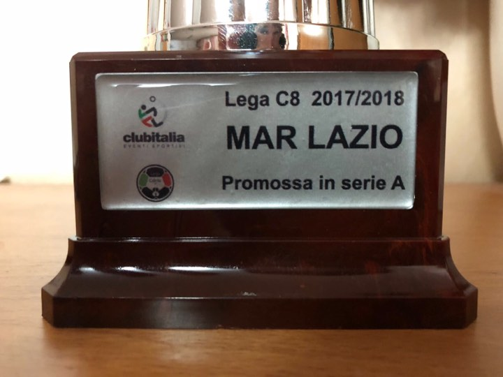 CALCIO8, MAR LAZIO PROMOSSA IN SERIE A