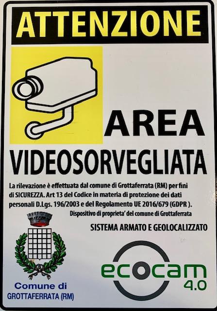 GROTTAFERRATA,LA VIDEOSORVEGLIANZA È REALTÀ: