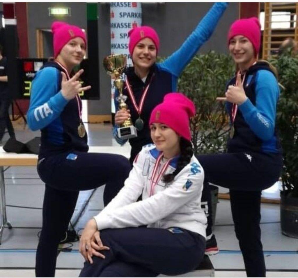 Frascati Scherma: per Rossini e Puglia trionfo a squadre in Coppa del Mondo Under 20