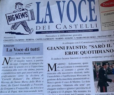 La Voce da 17 anni sul territorio dei Castelli Romani
