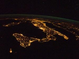 Italia-dalla-ISS