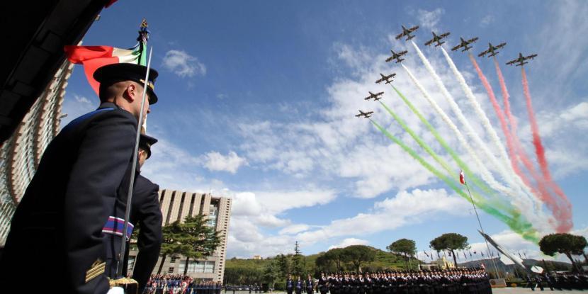 Giuramento allievi Accademia Aeronautica di Pozzuoli