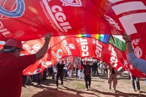 """Manifestazione Cgil """"Il lavoro prima di tutto!"""""""
