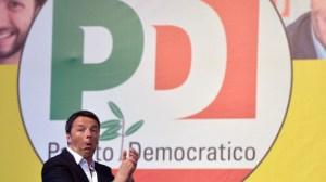 ITALY-EU-VOTE-PD-RENZI