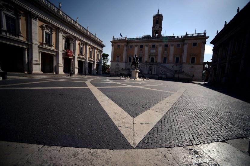 ITALY-MONUMENT-CAMPIDOGLIO