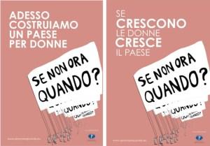 La pubblicità progresso a sostegno della parità di genere in Italia.