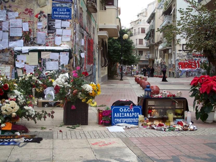 Tzavella_street_Alexis_murder_spot