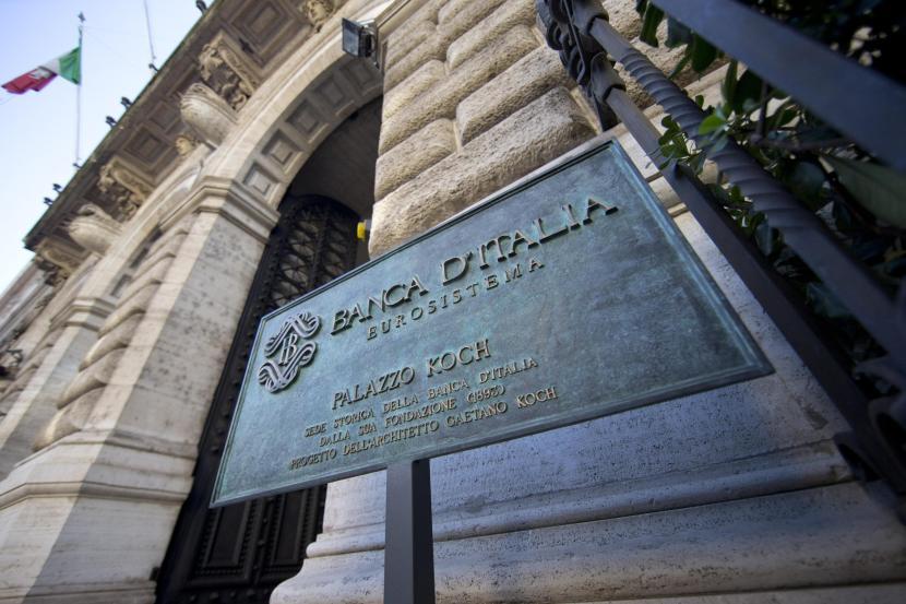 L'esterno della Banca D'Italia 23 dicembre 2013 a Roma  ANSA/MASSIMO PERCOSSI