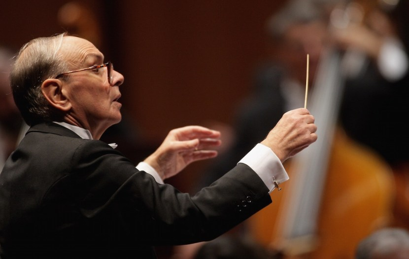ROME - OCTOBER 27:  Ennio Morricone attends the Concert Directed By Ennio Morricone on day 10 of the 2nd Rome Film Festival on October 27, 2007 in Rome, Italy.  (Photo by Franco Origlia/Getty Images) *** Local Caption *** Ennio Morricone