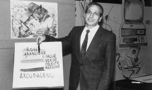 """Alberto Manzi (1924-1997) è stato un docente italiano nonché ideatore e conduttore della trasmissione """"Non è mai troppo tardi"""""""