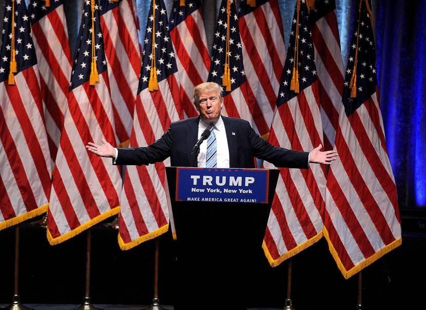 DONALD TRUMP DONALD TRUMP RUNNING MATE ANNOUNCEMENT, NEW YORK, USA, 16 JUL 2016 REPUBLICAN PRESIDENTIAL CANDIDATE DONALD TRUMP ANNOUNCES RUNNING MATE GOVERNOR MIKE PENCE DONALD, TRUMP, RUNNING, MATE, ANNOUNCEMENT, NEW, YORK, USA, 16, JUL, 2016, PERSONALITY, OUT & ABOUT, 39187817