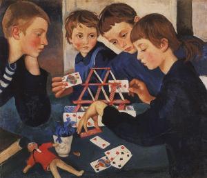 La casa di carte, 1919