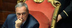 Pietro Grasso, (1945) è un ex magistrato e politico italiano, Presidente del Senato della Repubblica dal 16 Marzo 2013