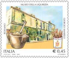 Un francobollo celebra il museo della liquirizia Amarelli di Rossano