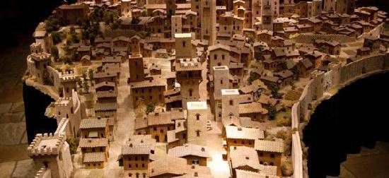 San Gimignano1300: le città in miniatura dei fratelli Rubino