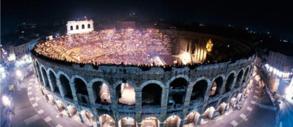 L'Arena di Verona festeggia 100 anni di lirica