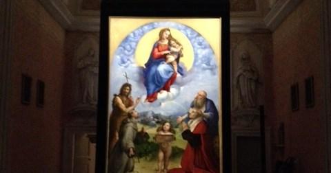 Tornata a casa la Madonna di Foligno di Raffaello