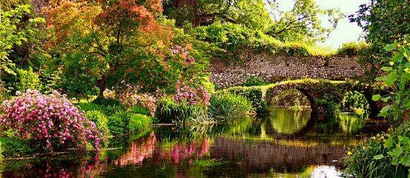 A Pasqua riaprono i Giardini di Ninfa, un bel video su Facebook