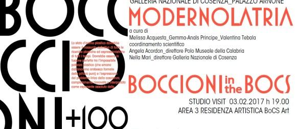 """A Cosenza entra nel vivo il progetto """"Boccioni+100"""""""