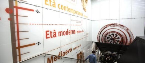 Roma, un viaggio metropolitano nella storia