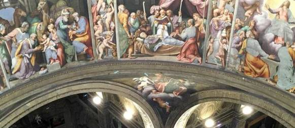 Piacenza. Gli affreschi del Pordenone visti da vicino