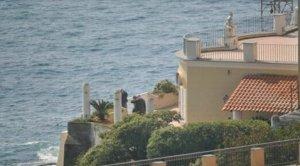 La villa in cui è stato ucciso Franco Ambrosio