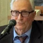 Bruno Fedi. Qui sotto il cardinale Elio Sgreccia
