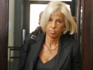 Il procuratore capo di Modena Lucia Musti. In alto il pm Woodcock