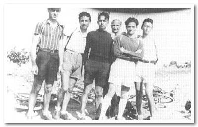 Una foto giovanile di Pasolini a Casarsa