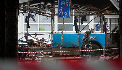 Bus esploso a Volgograd