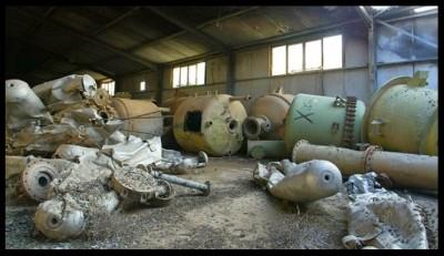 Vecchia struttura usata nel regime di Saddam Hussein come arsenale chimico