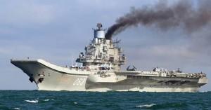 L'ammiraglia russa Kuznetsov