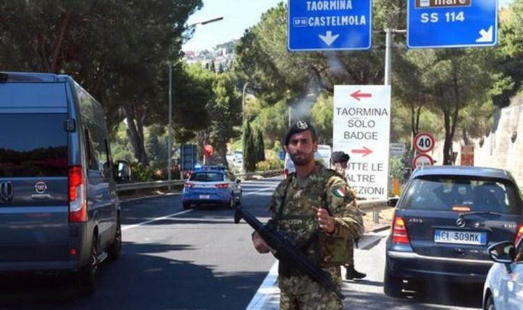 Taormina G7: prova di progressiva militarizzazione del territorio?