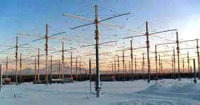 Le antenne Haarp in Alaska