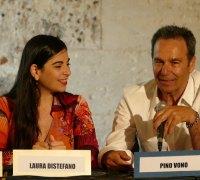 Laura Distefano, con l'Autore Pino Vono