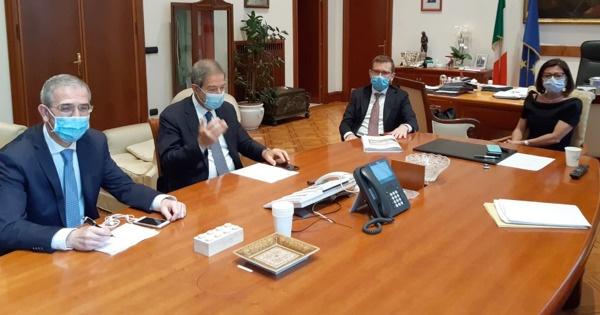 Infrastrutture siciliane: Musumeci incontra ministri De Micheli e Provenzano