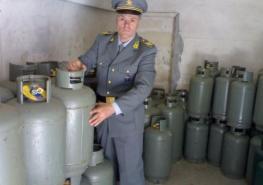 MARUGGIO - Operazione della Guardia di Finanza; sequestrati circa 750 kg, di GPL; una persona è stata denunziata all'autorità giudiziaria.