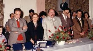 gli ex sindaci Saracino, Longo e Favale.