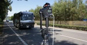 Polizia Provinciale Taranto - Attività di vigilanza stradale con l'utilizzo di apparecchiatura tele laser