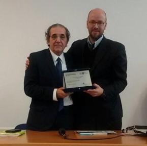 Pierfranco Bruni con  Giovanni Agresti