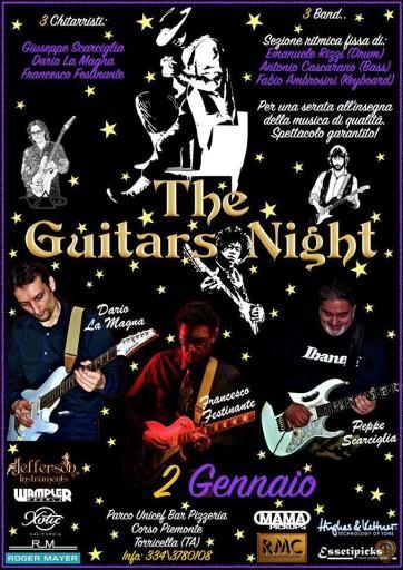 la notte delle chitarre